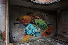 Gorgeous work by reFRESHink (www.flickr.com/photos/refreshink) and Seacreative in Italy.