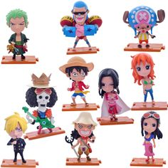 One Piece Figures 10 Piece Collection //Price: $40.02 & FREE Shipping // #dragonballz #onepiece #attackontitan #naruto #fairytail #fullmetalalchemist #tokyoghoul #anime #manga