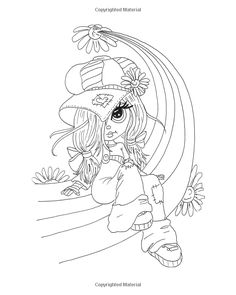 Lacy Sunshine's Rory Sweet Urchin Coloring Book Volume 2: Fun Whimsical Big Eyed…
