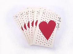 6 gavelapper - hjerte