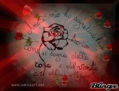 """""""Amore mio ho sognato di te come si sogna della rosa e del vento.""""  Guarda anche:Alda Merini Frasi e poesie Alda Merini e la primavera"""