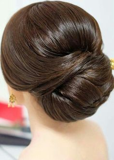 Wedding hairstyles updo up dos elegant 47 Ideas Braided Bun Hairstyles, Classic Hairstyles, Modern Hairstyles, Bride Hairstyles, Pretty Hairstyles, Elegant Wedding Hair, Short Wedding Hair, Hair Up Styles, Hair Style