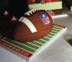 If American Football is his thing... make it his Groom's Cake!