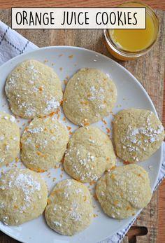Soft Sugar Cookies, No Bake Cookies, Chip Cookies, Orange Cookies, Easy Desserts, Delicious Desserts, Dessert Recipes, Snack Recipes, Baking Soda Baking Powder