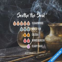 Soothe the Soul - Essential Oil Diffuser Blend