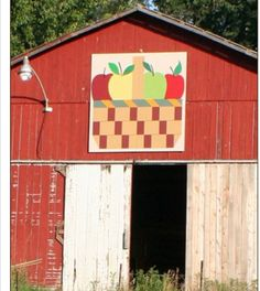 Here's a Barn Quilt you haven't seen before! Photo taken in Frenchburg, KY…