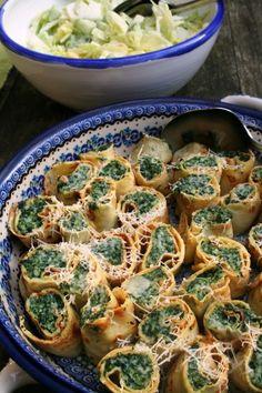 Crespelle spinaci-ricotta