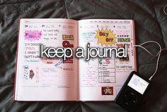 keep a journal summer bucket list Bucket List Tumblr, Bucket List Life, Life List, Summer Bucket Lists, Teenage Bucket Lists, Bucket List Before I Die, Just Dream, To Infinity And Beyond, Summer Diy