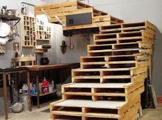 Stephane Lacassagne palette escaliers