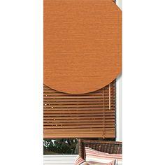 Homeworks Venetian Blind Basswood Tasman Colour Teak 120cm x 150cm