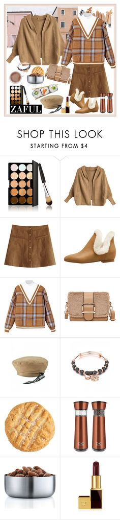 """""""Zaful:Black Friday & Biggest Sale"""" by carola-corana ❤ liked on Polyvore featuring Olsen, Kalorik, blomus and Tom Ford"""