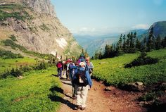 Group Mountain Hiking Trails