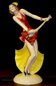 German Art Deco Figurine by William Goebel.
