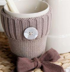 Mother/'s Day Mug Câlin//cosy//Wrap//housse De Garder Votre Boisson Chaude Tricot Cadeau