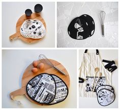 black and white kitchen gifts