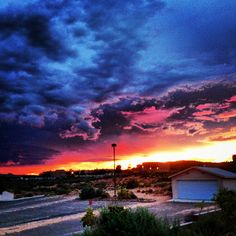Rio Rancho, NM our beautiful sky's.