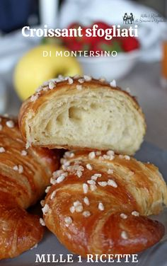 Alice Tv, Croissant, Cake & Co, Cooking Tips, Bakery, Sweets, Bread, Muffin, Desserts