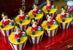 1st Birthday Cakes, Cute Cupcakes, Circus Party, Cata, Baby Party, Marshmallow, Cake Pops, Biscuits, Birthdays
