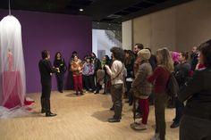 Sanatçı Gülçin Aksoy ile eleştirel sergi turu: Vadedilmiş Bir Sergi, SALT Beyoğlu, Aralık 2013