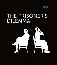 Davis | Dramatic Simplicity in The Prisoner's Dilemma. Read the full premise on our website newsfeed!    #philosophy #design Prison, Design Projects, Philosophy, Branding, Website, Heart, Brand Identity, Philosophy Books, Identity Branding