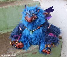 Zutphen the Baku doll Missmonster x Remjie collab by missmonster.deviantart.com on @deviantART