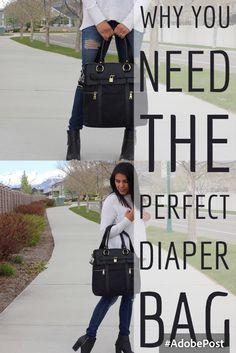 Louise Backpack Diaper Bag by Newlie.com