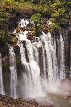 amazing.quenalbertini: Kalandula Falls, Angola via incredible-pixs.blogspot