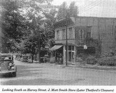 Harvey Street, Williamson, WV, Early 1900's.