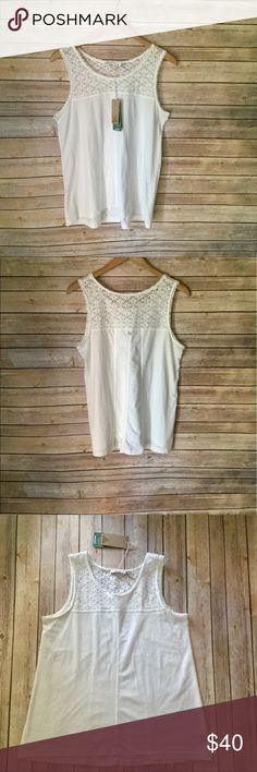 """NWT Prana White Cassi Tank Top Prana """"Cassi"""" Tank Top. Brand New With Tags. Made With 60% Organic Cotton and 40% Polyester. Smoke and Pet Free Home. No Trades. Reasonable Offers Welcome. Bundle and Save! Prana Tops Tank Tops"""