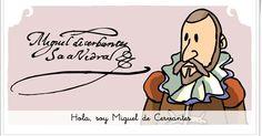 """""""Miguel de Cervantes"""" (Animación audiovisual de Lengua de Primaria) Charlie Brown, Comics, Fictional Characters, Miguel De Cervantes, Don Quixote, Activities, Book, Renaissance"""