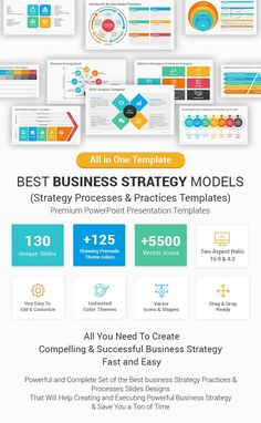 Best Business Strategy Models and Practices PowerPoint Templates - SlideSalad Mission Statement Template, Clock Template, Swot Analysis Template, Strategic Goals, Strategic Planning, Strategy Map, Goals Template, Unique Selling Proposition, Business Model Canvas