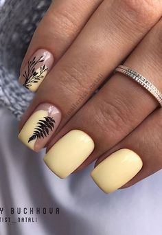 47 Stunning Acryli Short Square Nails Design For Spring Manicure Nails - Page 13 of 46 - The Secret of Modern Beauty Square Acrylic Nails, Cute Acrylic Nails, Acrylic Nail Designs, Nail Art Designs, Nails Design, Diva Nails, My Nails, Fancy Nails, Pretty Nails