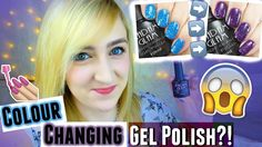 COLOUR CHANGING GEL POLISH W/ 12 DAY WEAR?! Madam Glam Review + Bloopers...
