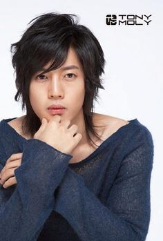 Hyun Joong. Looking at this, you can tell he has chubby cheeks :)