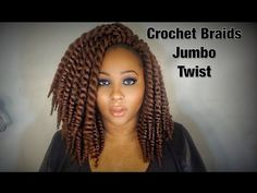 "AUTHENTIC Synthetic Hair Crochet Braids 12"" 2X Jumbo Senegalese Twist - YouTube"