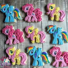 My Little Pony Birthday Party, Birthday Fun, Birthday Parties, Rainbow Dash, Cookie Decorating, Party Planners, Birthdays, Decorated Cookies, Ava