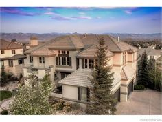 1151 Michener Way, Highlands Ranch: Stunning custom home in the exclusive and desirable Highwoods gated community. Panoramic mountain views from Pikes Peak to Longs Peak. Price: $2,290,000