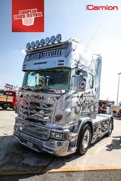 """Nei giorni 27 e 28 settembre 2014, presso l'Autoparco Brescia Est raduno """"European Truck Festival"""" dedicato al Truck Tuning Expò."""