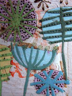 CERAMIC DISH ELIZABETH HOWE Ceramic Decor, Ceramic Clay, Ceramic Plates, Ceramic Pottery, Paper Clay, Clay Art, Ceramic Techniques, Ceramic Flowers, Art Graphique