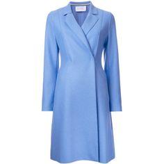 Harris Wharf London flared coat ❤ liked on Polyvore (see more Harris Wharf London)