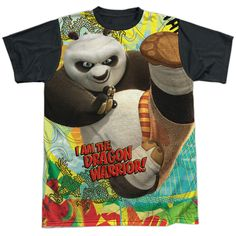 "Checkout our #LicensedGear products FREE SHIPPING + 10% OFF Coupon Code ""Official"" Kung Fu Panda/dragon Warrior-s/s Adult T- Shirt - Kung Fu Panda/dragon Warrior-s/s Adult T- Shirt - Price: $24.99. Buy now at https://officiallylicensedgear.com/kung-fu-panda-dragon-warrior-s-s-adult-t-shirt-licensed"