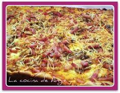 La cocina de Angie: PIZZA CON MASA SIN AMASAR