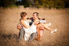 Carissa & Lachlan's relaxed and rustic SA bush wedding