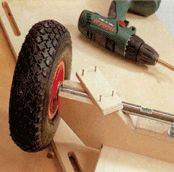 Bauanleitung für einen Bollerwagen