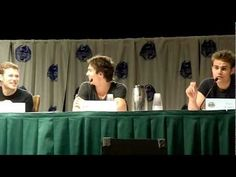 TVD Panel at Dragon Con 2012 part 1    Most of the Saturday panel at Dragon Con with part of the cast from The Vampire Diaries