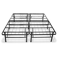 This complete support system for your mattress replaces your current metal frame and box spring #with a much more user friendly option. Excellent strength and du...