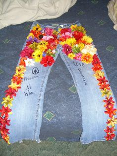 Flower child! Awesome idea! I feel a little hippie cry out in me saying must do!