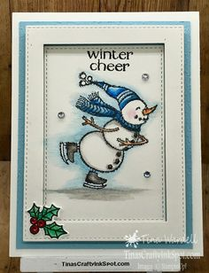 Holiday Catalog Sneak Peek Snowmen ⋆ Tina Wardell~Stampin' Up! Stampin Up Christmas 2018, Christmas Cards 2018, Homemade Christmas Cards, Xmas Cards, Homemade Cards, Holiday Cards, Christmas Tag, Christmas Ideas, Chrismas Cards
