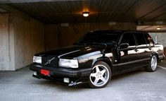 Volvo 740 | Wheels | Black