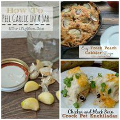 Peel Garlic easily,